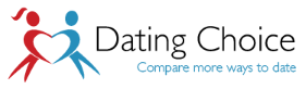 DatingChoice.com – Guide to online dating, speed dating, singles holidays and more Logo